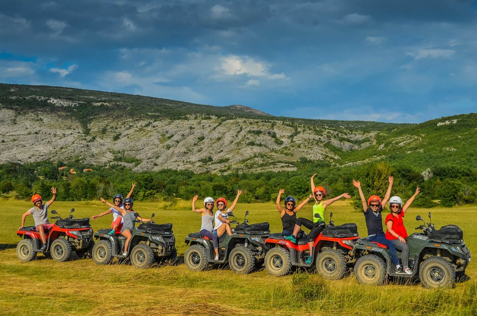 ATV Qaud team building in Croatia