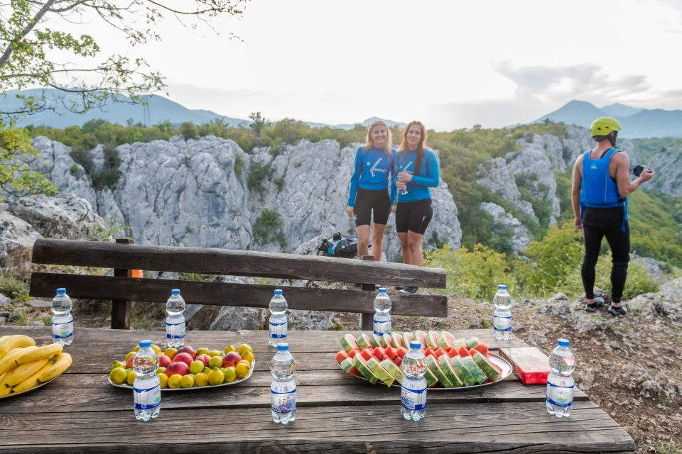 Extreme rafting on Cetina river