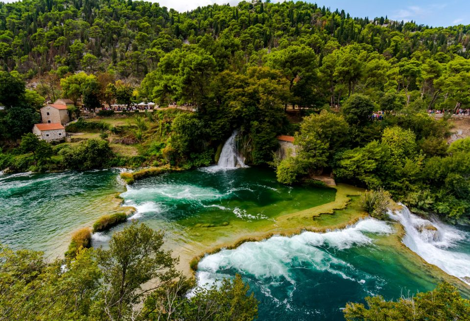 Old mills in the NP Krka