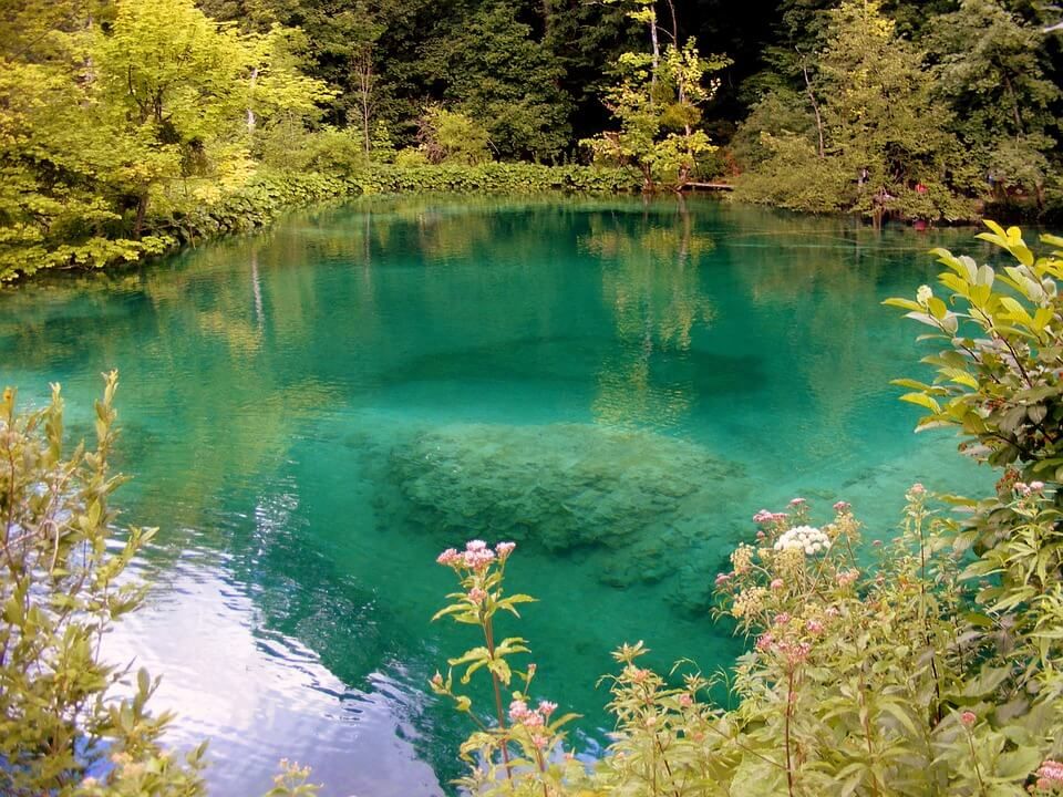 Nature of Plitvice Lakes