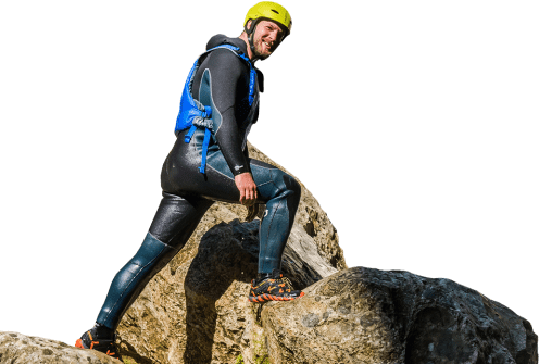 Canyoning equipment Split