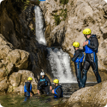 Daily tours from Split rafting canyoning zip line national park blue cave