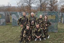 Team building offers in Split paintball