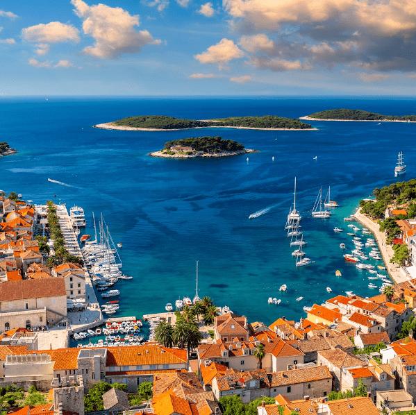 Boat tours to Hvar island