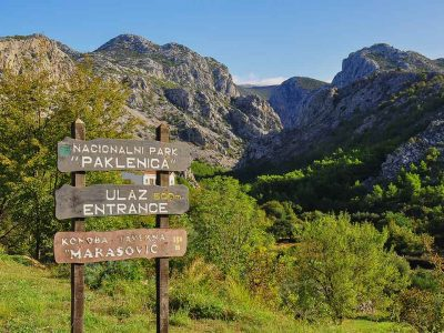 Climbing and hiking tours Croatia national parks