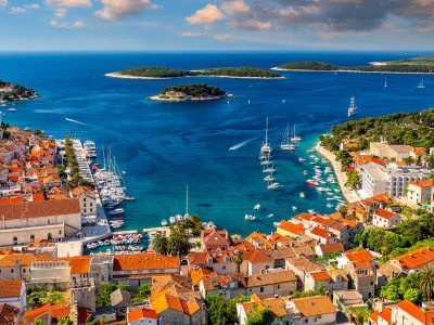 View from the fortress of Hvar