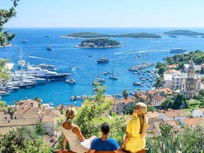Hvar town & Pakleni islands