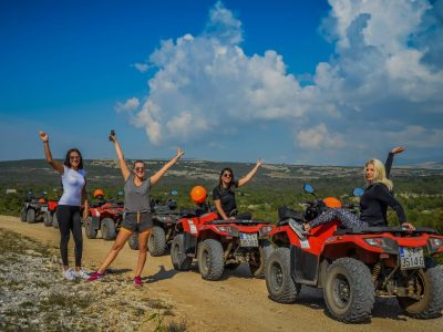 Quad biking private tour