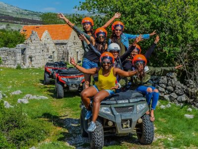 ATV Quad Bike Mountain trip in Croatia