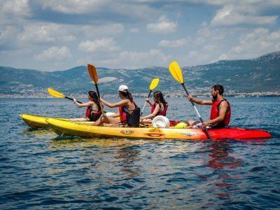 Sea kayaking and snorkeling half day sea tour in Split