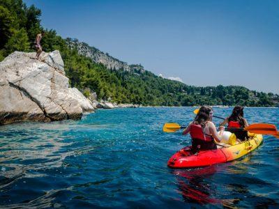Sea kayak - Low budget day trips in Split