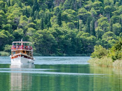 Panoramic cruise from Skradin