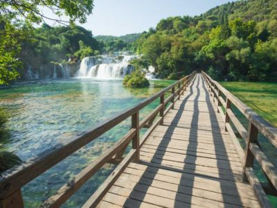 Breathtaking nature of NP Krka