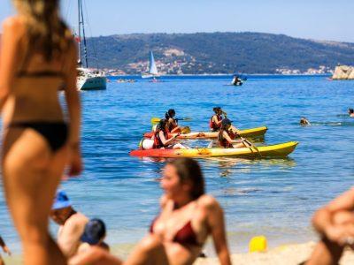 Kasjuni beach in Split