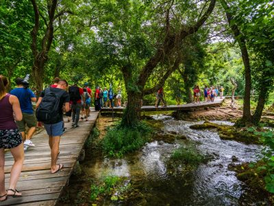 One day trip to NP Krka with the guide