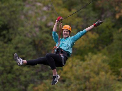 Trip advisor adventure tour in Omis Zipline