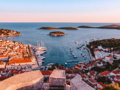 View from the Hvar fortress