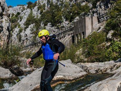 Canyon of Cetina river