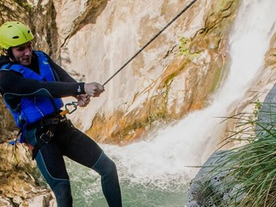 Extreme Canyoning on the Cetina river