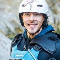 Canyoning professional guide