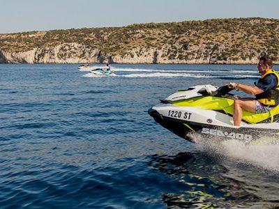 Drive a jet ski in Split