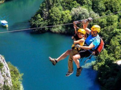 The best 10 adrenaline tours in Split Croatia